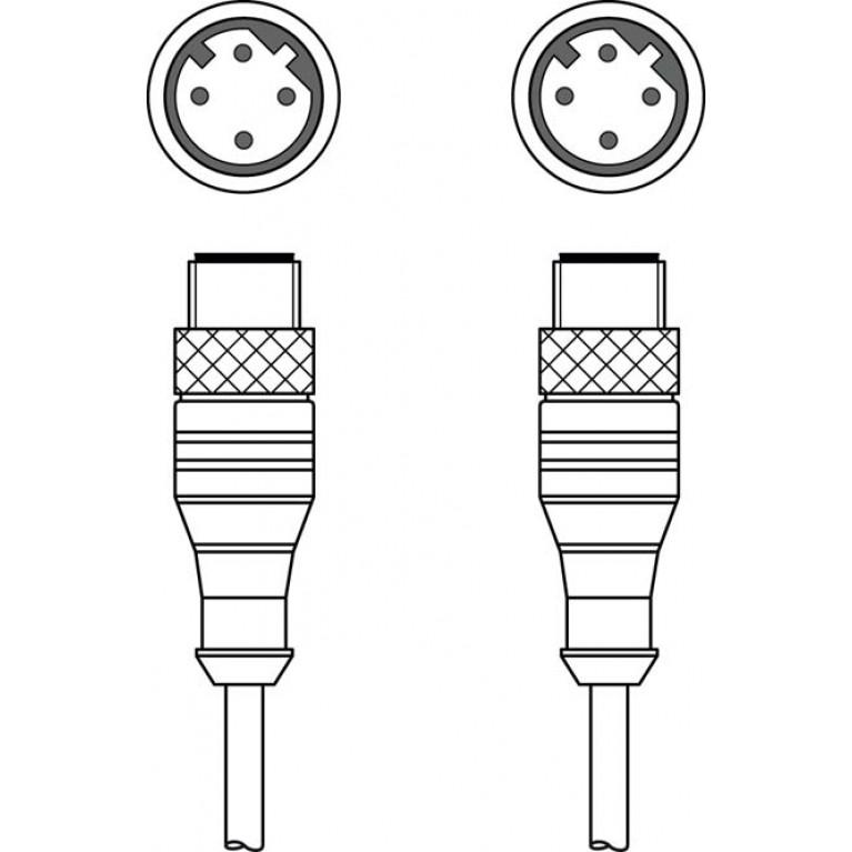 KSS ET-M12-4A-M12-4A-P7-150 - Interconnection cable