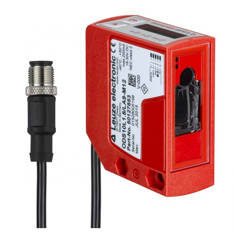 ODS10L1-25M.8/LAK,200-M12 - Optical distance sensor