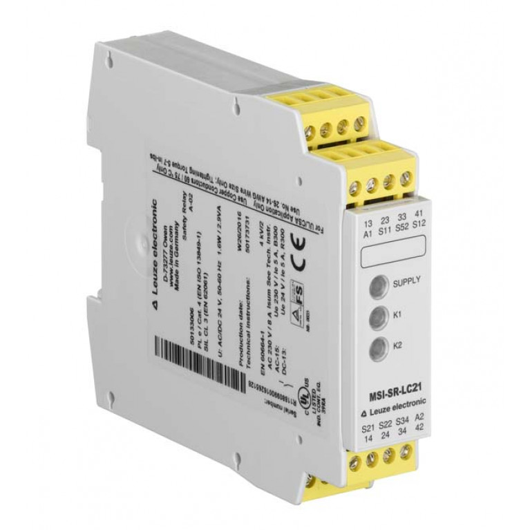 MSI-SR-LC21-01 - Safety relay
