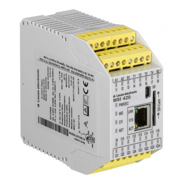 MSI 420-01 - Safety control