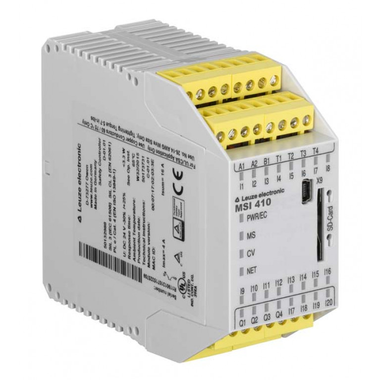 MSI 410-01 - Safety control